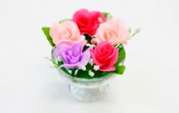 Цветы, листики, калина для декора
