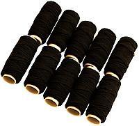 Нитка-резинка черная (шляпная резинка)  упаковка 10шт