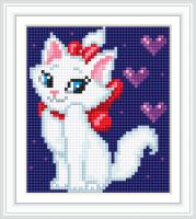 Набор Алмазной мозаики АВ 5076  Кошка  полная зашивка