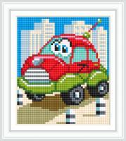 Набор Алмазной мозаики АВ 5078 Машина  полная зашивка