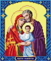 Набор Алмазной мозаики   АВ 4062 Св Семья  частичная зашивка