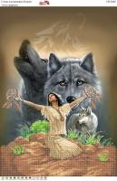 Вышивка бисером СВ 2048 Волки