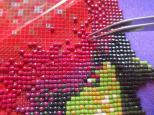 Набор Алмазной мозаики   АВ 4049 Олененок полная зашивка