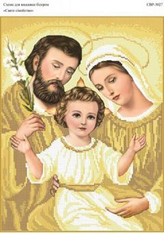 Вышивка бисером СВР 3027 Святое Семейство