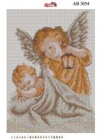 Набор Алмазной мозаики  АВ 3054 Ангел  (полная зашивка)