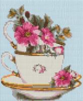 Набор Алмазной мозаики   АВ 4046 Цветы полная зашивка