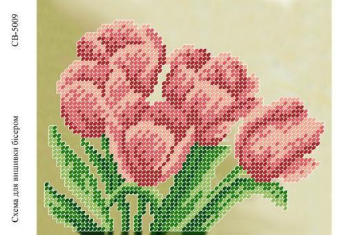 Вышивка бисером СВ 5009 Цветочек