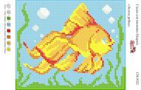 Вышивка бисером СВ 5032 Рыбка