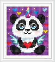 Набор Алмазной мозаики АВ 5086 Панда  полная зашивка