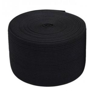 Резинка для одежды 6см черная