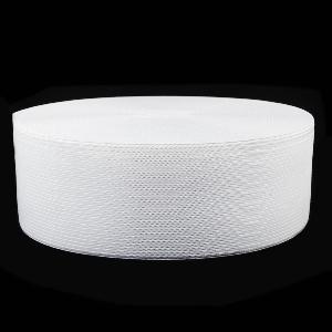 Резинка для одежды 4см белая