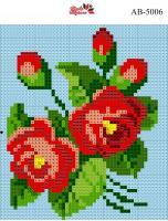 Набор Алмазной мозаики формат АВ 5006 Роза