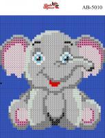 Набор Алмазной мозаики формат АВ 5010 Слоник