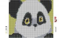 Набор Алмазной мозаики формат АВ 5011Панда
