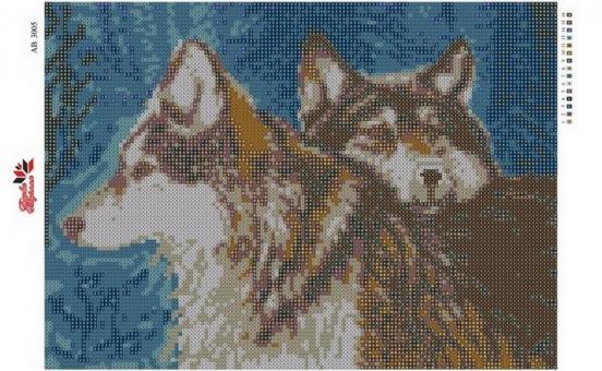 Набор Алмазной мозаики  АВ 3005