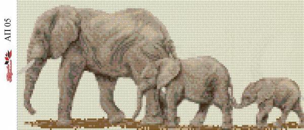 Набор Алмазной мозаики  Пано  АП 05 (полная зашивка)