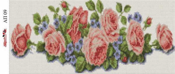 Набор Алмазной мозаики  Пано  АП 09 (полная зашивка)