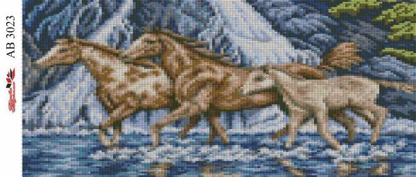 Набор Алмазной мозаики  АВ 3023 (полная зашивка)