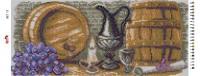 Набор Алмазной мозаики  Пано  АП 11  Погребок  полная зашивка