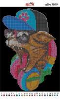 Набор Алмазной мозаики  АВ 3039 (частичная зашивка)