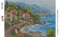 Набор Алмазной мозаики  АВ 3049 Город  (полная зашивка)