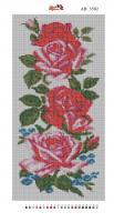 Алмазная вышивка АВ 3502 Роза(полная зашивка)