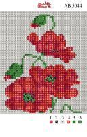 Набор Алмазной мозаики АВ 5044 Маки