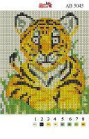Набор Алмазной мозаики АВ 5045 Тигра