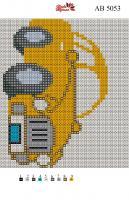 Набор Алмазной мозаики АВ 5053 Машинка
