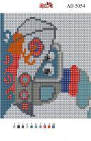 Набор Алмазной мозаики АВ 5054 Кораблик