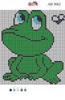 Набор Алмазной мозаики АВ 5062 Лягушонок  полная зашивка