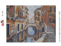 Набор Алмазной мозаики   АВ  2013 Флоренция  полная зашивка