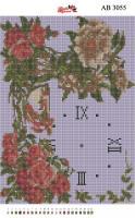Набор Алмазной мозаики  АВ 3055 Часы  (полная зашивка)