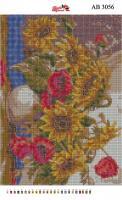 Набор Алмазной мозаики  АВ 3056 Ваза  (полная зашивка)