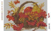 Набор Алмазной мозаики  АВ 3059 Карзина  (полная зашивка)