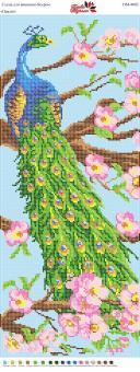 Вышивка бисером Пано ПМ 4003 Павлин (полная зашивка)