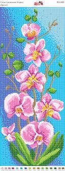 Вышивка бисером Пано ПМ 4009 Орхидея (полная  зашивка)
