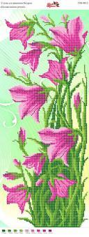 Вышивка бисером Пано ПМ 4018 Маки (полная зашивка)