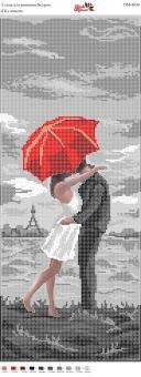 Вышивка бисером Пано ПМ 4030 Под дождем (полная зашивка)