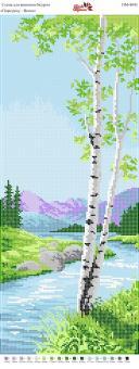 Вышивка бисером Пано ПМ 4043 Весна  (полная зашивка)