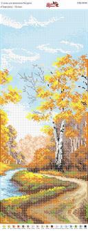 Вышивка бисером Пано ПМ 4044 Осень  (полная зашивка)