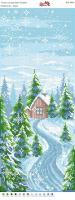 Вышивка бисером Пано ПМ 4046 Зима  (полная зашивка)
