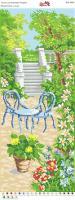 Вышивка бисером Пано ПМ 4048 Отдых в саду  (полная зашивка)