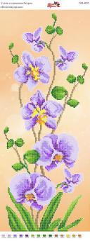 Вышивка бисером Пано ПМ 4055 Орхидея (частичная зашивка)