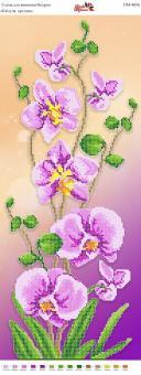 Вышивка бисером Пано ПМ 4056 Орхидея (частичная зашивка)