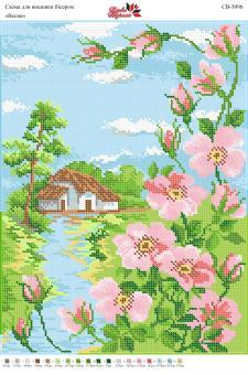 Вышивка бисером СВ 3096 Весна  (полная зашивка)