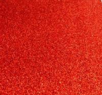 фоамиран с глиттером  (блестками) красный  20см*30см  Упаковка 10шт