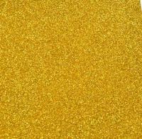 фоамиран с глиттером  (блестками)  золото  20см*30см  Упаковка 10шт