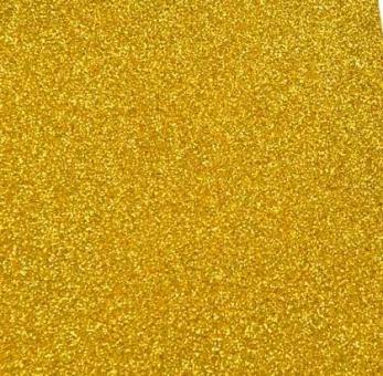 фоамиран с глиттером  (блестками)  золото  20см*30см