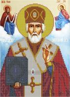 Набор Алмазной мозаики  АВ 3036 (частичная зашивка   )св. Николай Чудотворец